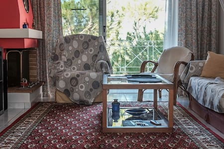 Amazing sea-view summertime apartment - Saronida - Daire
