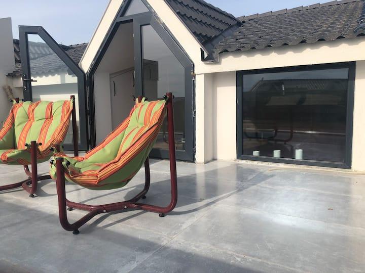 Urla KiteSurf Dublex Design House w/Terrace 7 KİŞİ