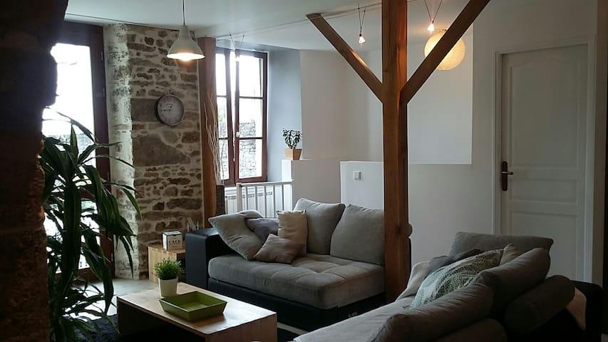 Appartement avec jardin Centre Historique de Dinan