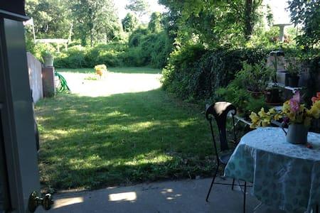 Garden getaway near town