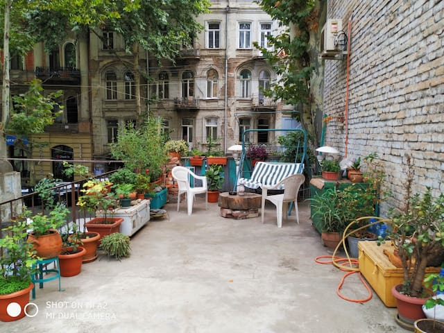 Old Tbilisi Apartment with Terrace