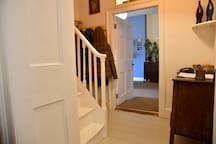 Downstairs hallway (shared space)