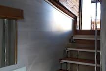Scala per ingresso terrazza