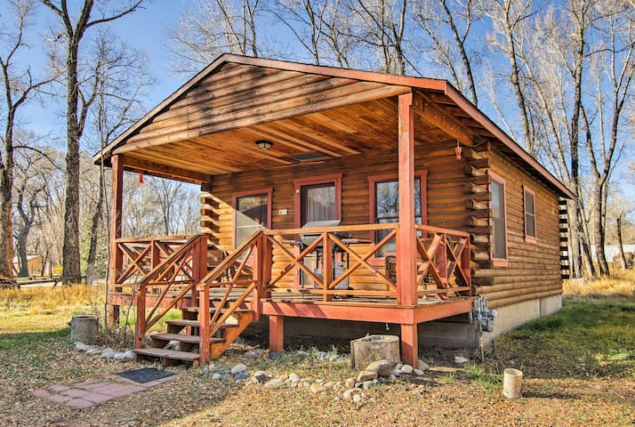 New 39 wintersong 39 1br buena vista cabin in forest for Buena vista co cabins rentals