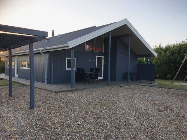 Roomy Holiday home 4 bedrooms Bork Havn, Tarm 110m