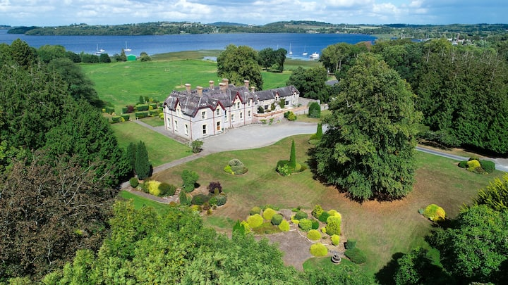 Magical Waterfront Irish Estate on 25 Acres