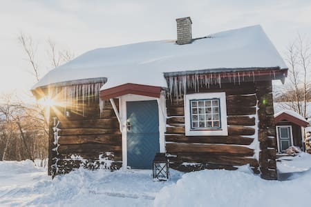 Old timber cabin, Geilo - Hol