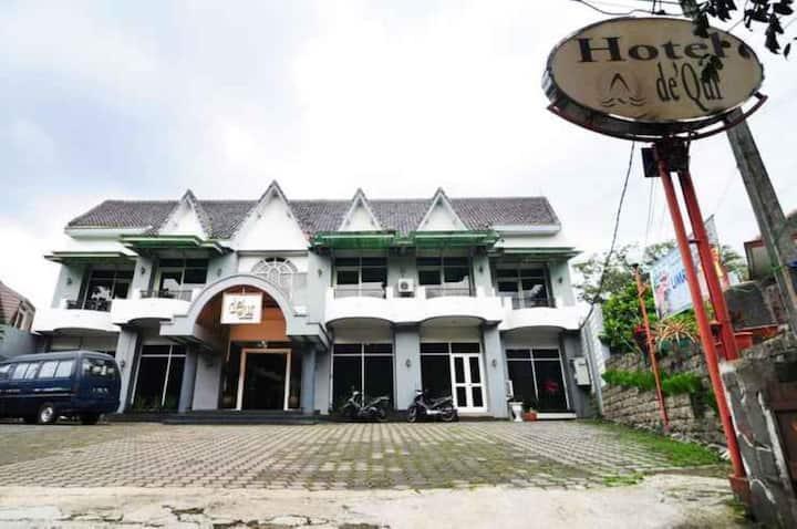 Deluxe Room at De'Qur Hotel Bandung