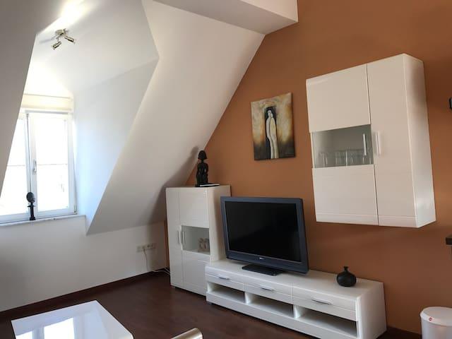 2 Zimmer-Wohnung im ehemaligen Gasthof - Höchberg - Appartement