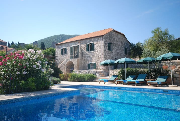 Exclusive luxury villa with pool. - Mali Ston - Willa
