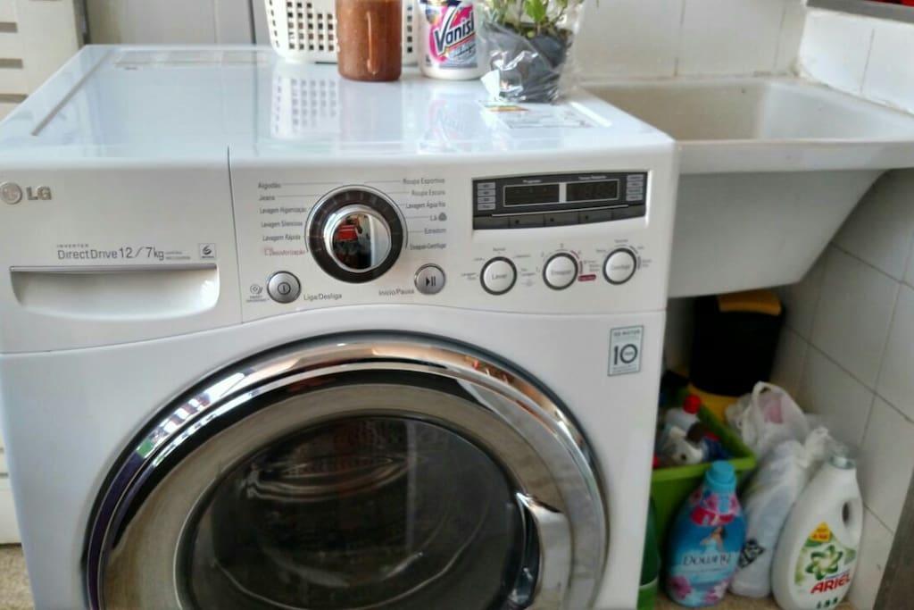 Washing area (shared)