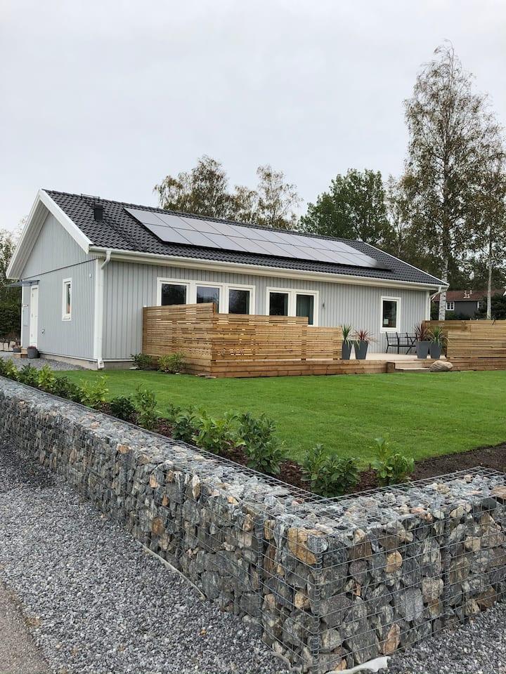 Nybyggd enplansvilla i Tanum