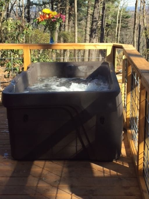 two person hottub