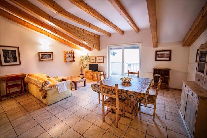 Appartamento panoramico a 5 km di Trento