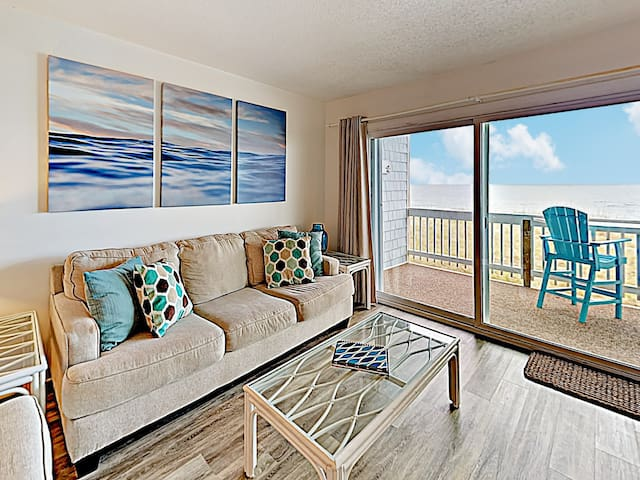 Oceanfront Condo w/ Pool - Steps to Beach!