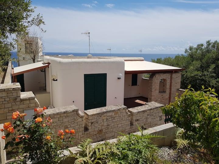 Casa indipendente presso Marina di Andrano