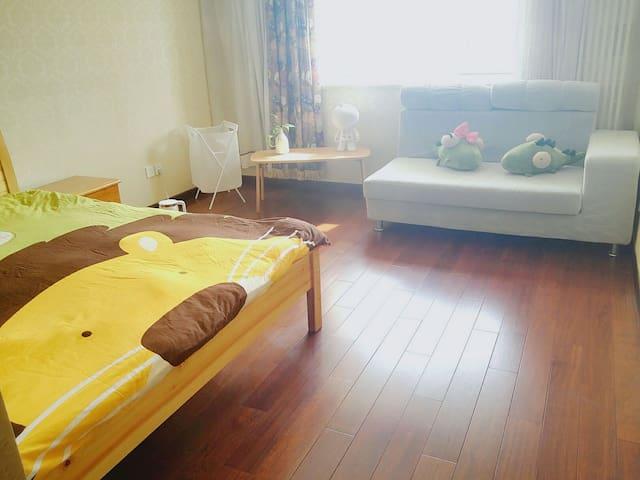 优质大单间,大床房带飘窗,18层夜景,豪华卫浴,高档小区 - Pequim