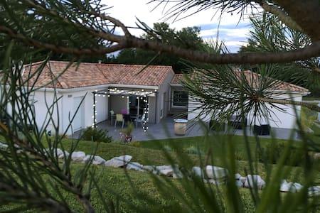 Villa moderne au cœur de la campagne toulousaine - Launac - Casa