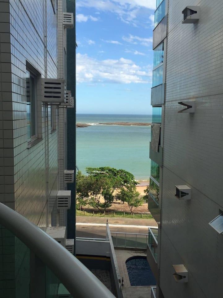 Apartamento encantador/melhor praia de Guarapari