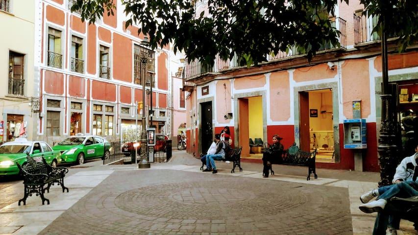 Fabulosa ubicación en pleno ♥ de Guanajuato 👌