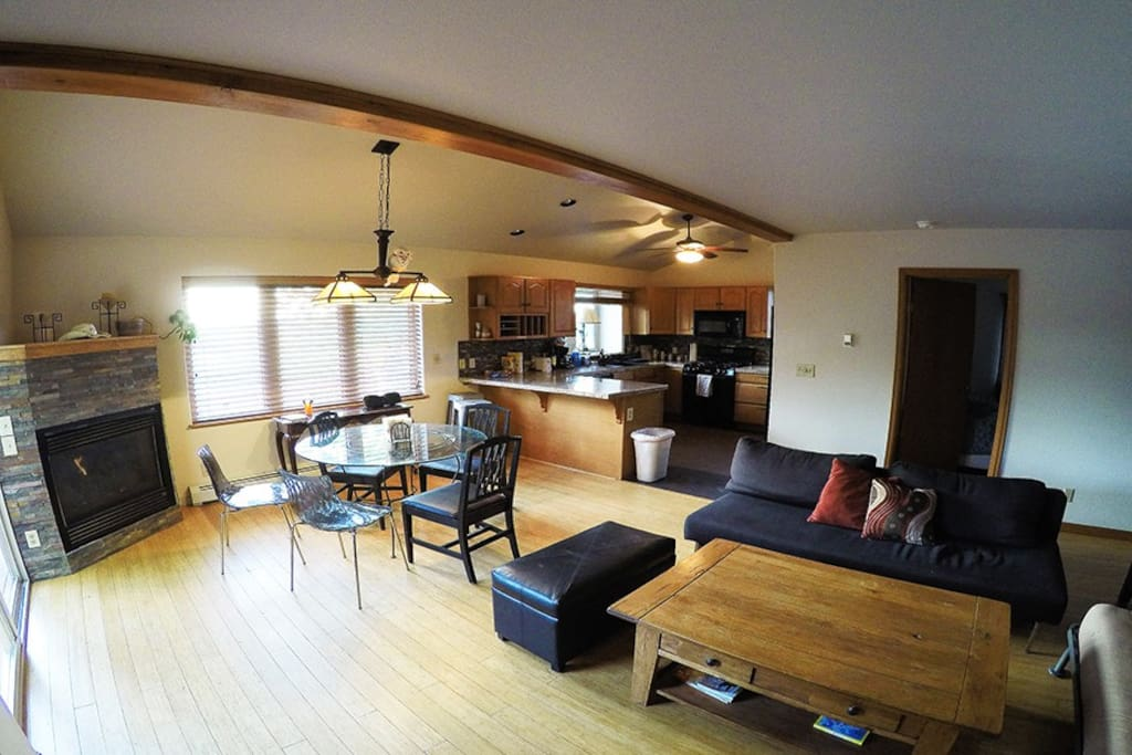 three bedroom majestic mountain duplex townhouses for rent in steamboat springs colorado