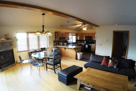 Three bedroom majestic mountain home - Steamboat Springs - Townhouse