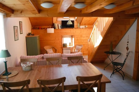 Cottage Gentianes heart of nature 6 + 2 pax - Ventron