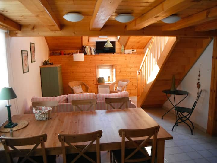 Cottage Gentianes heart of nature 6 + 2 pax