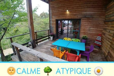 Atypique-Calme-Appartement-8km de Nice-Parking