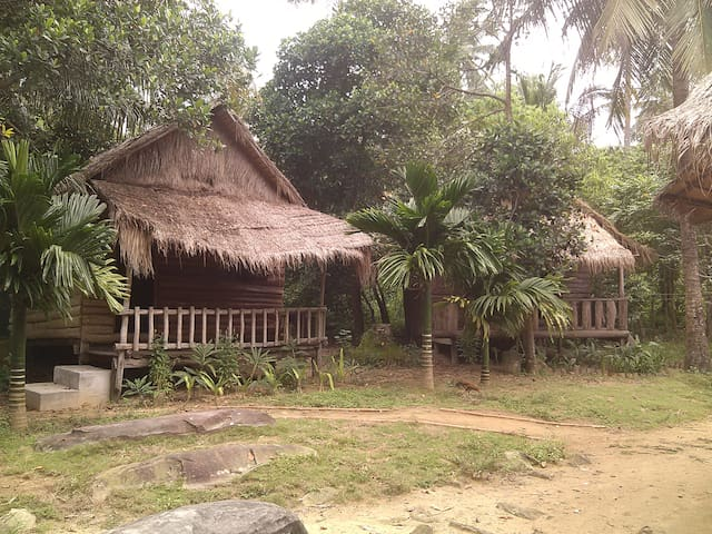 Village bungalow on tropical island - Krong Preah Sihanouk