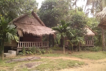Village bungalow on tropical island - Krong Preah Sihanouk - Bungalow