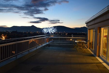 Sur les toits de SELESTAT terrasse 40 m² - Sélestat