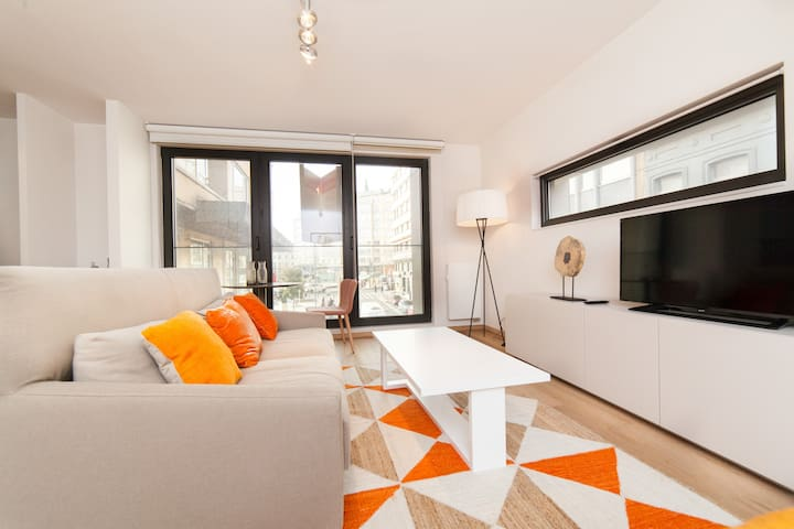 Beautiful studio place flagey with a view - Ixelles - Pis