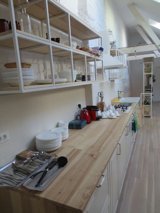 Cooking area (shared)