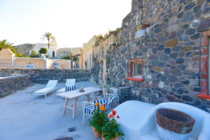 See Santorini Private residence - Mesaria - Huis