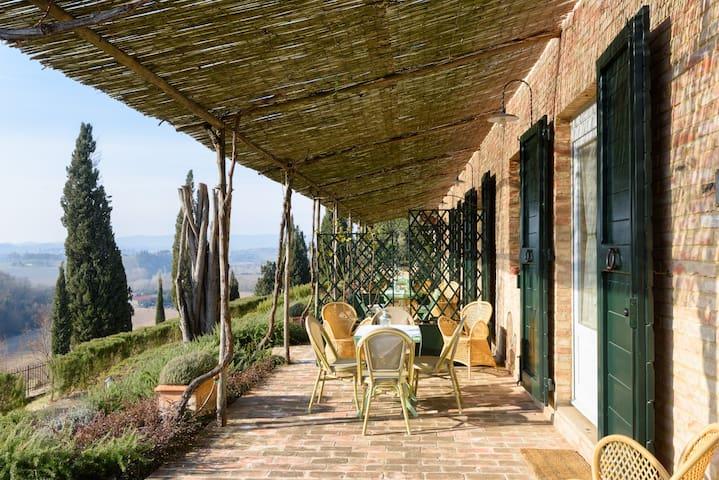 Casa Ricci - Casale Sant'Alberto - Monteroni D'arbia - บ้าน