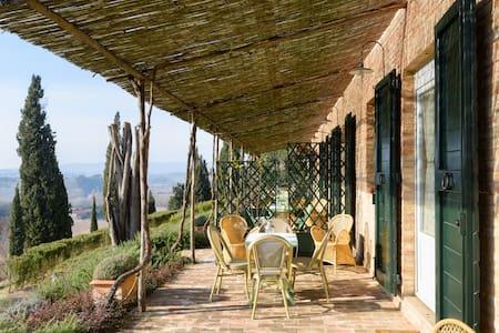 Casa Ricci - Casale Sant'Alberto - Monteroni D'arbia - Rumah