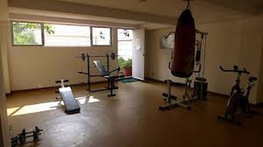 Gym is open from 9am - 9pm daily