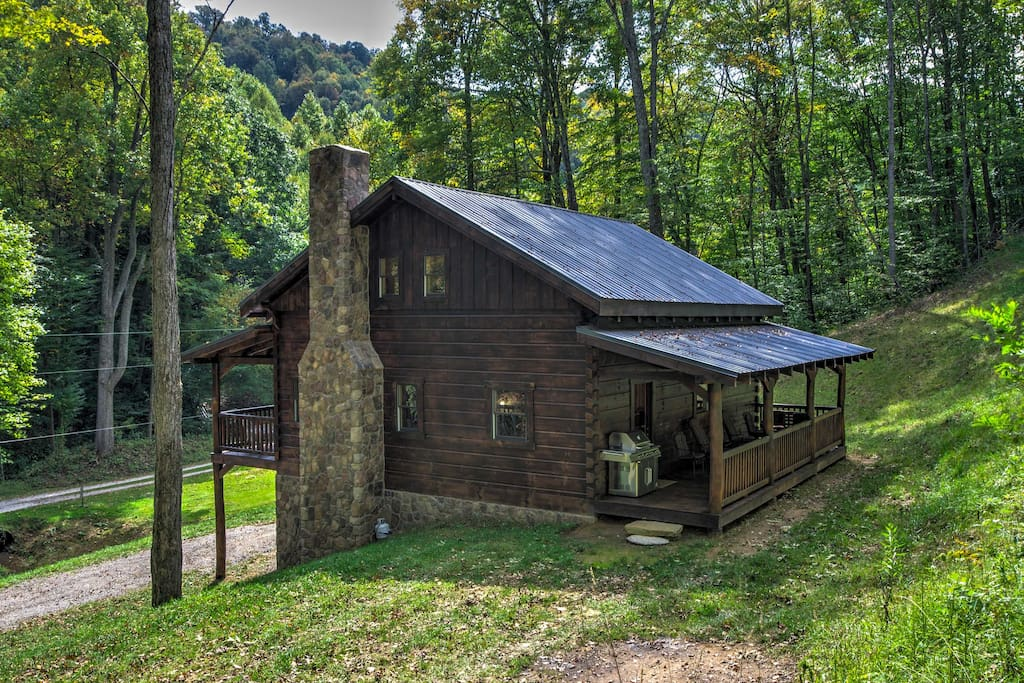 new scenic 3br trade cabin near boone app state