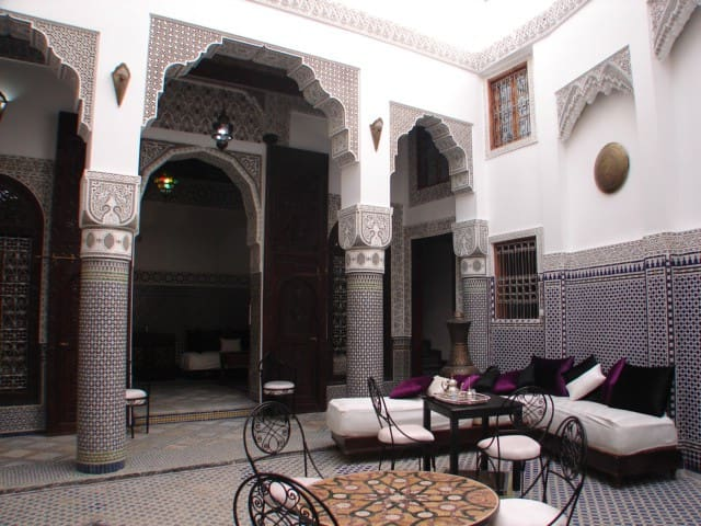 Riad Sheryne amazing little palace into the medina - Fès - Bed & Breakfast