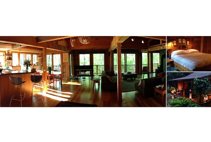 Bliss-out in a Beautiful Log Cabin