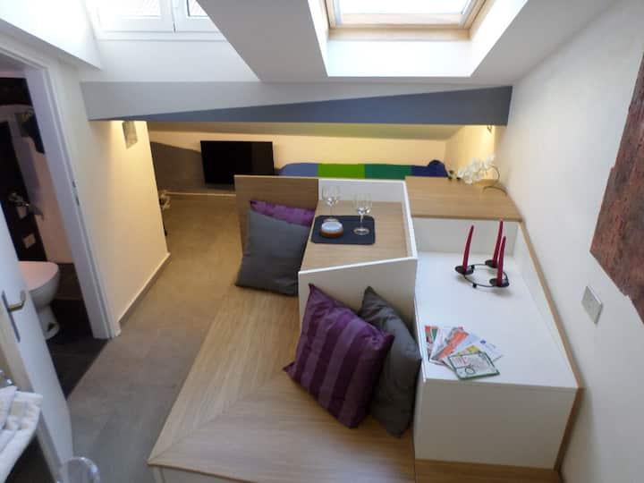 Pied a terre Brera, the cube apt, design district