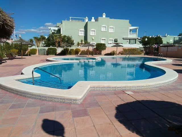 2 bedroom Apartment, own sundeck and shared pool