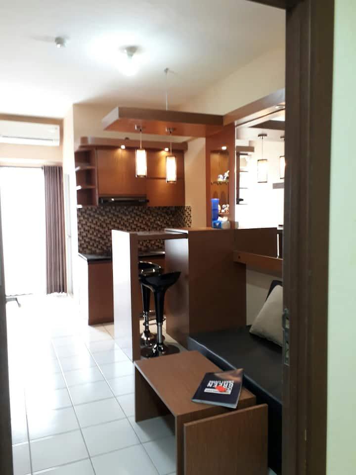Cozy 2BR Apartment Kemang View