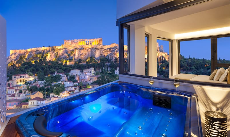 AVATON Acropolis Panorama with Jacuzzi