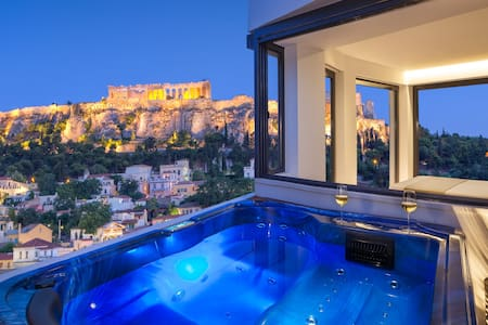 Athens AVATON - Acropolis Suite with Jacuzzi