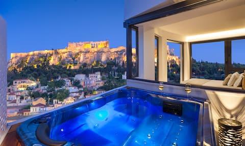 Athens AVATON - Acropolis Suite with Jacuzzi