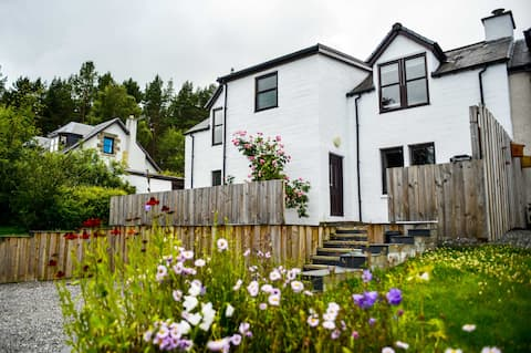Newly renovated house in Cairngorms National Park