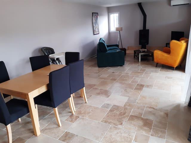Villa rénovée aux portes de la Camargue