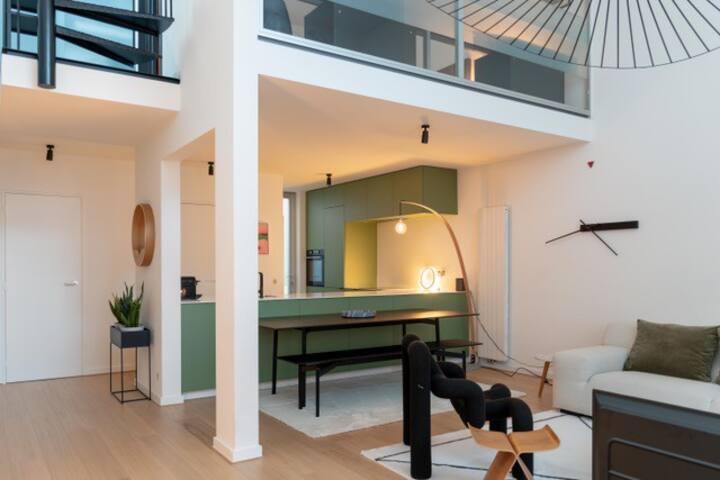 Design appartment + Garage